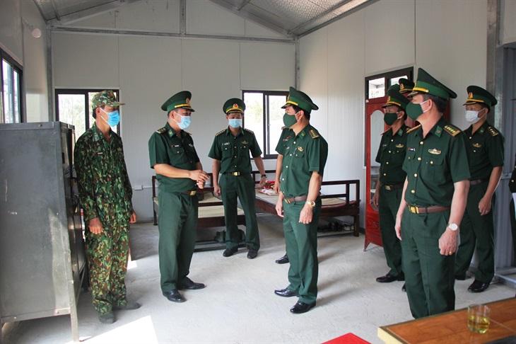 Kiểm tra công tác quản lý, bảo vệ biên giới và phòng, chống dịch Covid-19 trên tuyến biên giới Bình Phước