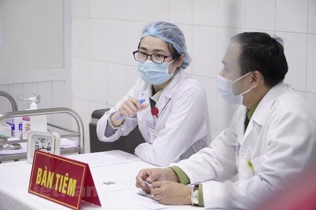 35 tình nguyện viên tiêm thử vắcxin Covid-19 Nano Cova giai đoạn 2