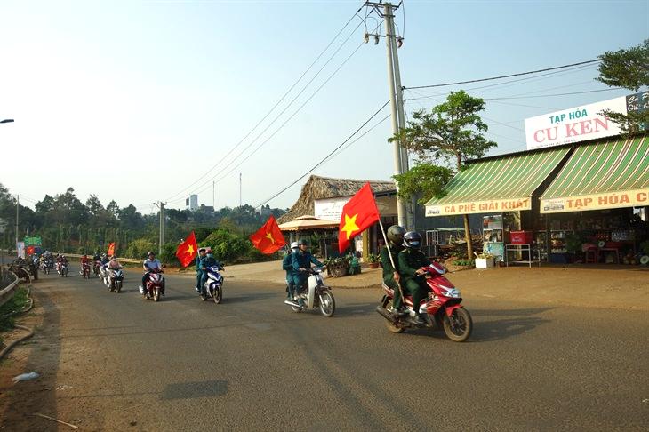 Đăk Nông: Tuyên truyền lưu động về Truyền thống lực lượng BĐBP và phòng, chống dịch Covid-19 tại các xã biên giới