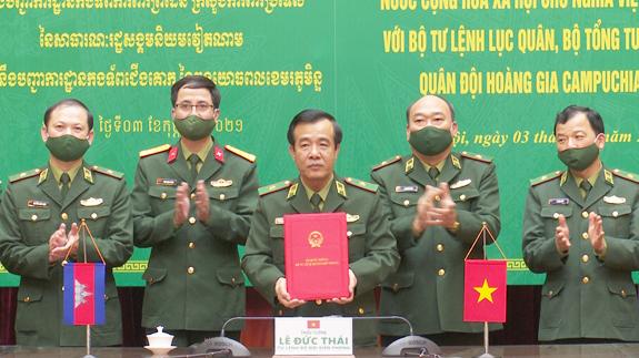 Hợp tác xây dựng biên giới đất liền Việt Nam – Campuchia