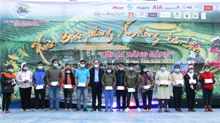 Quảng Nam: Hơn 1 tỷ đồng hỗ trợ nhân dân biên giới huyện Tây Giang đón Tết