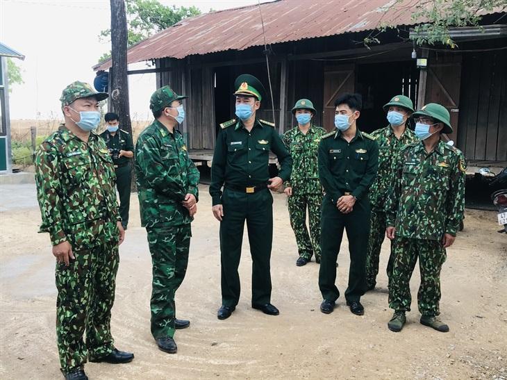Kiểm tra công tác phòng, chống dịch bệnh Covid-19 trên tuyến biên giới Đắk Lắk