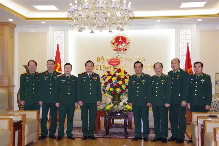 Thượng tướng Hoàng Xuân Chiến chúc mừng BĐBP nhân dịp kỷ niệm 62 năm Ngày Truyền thống