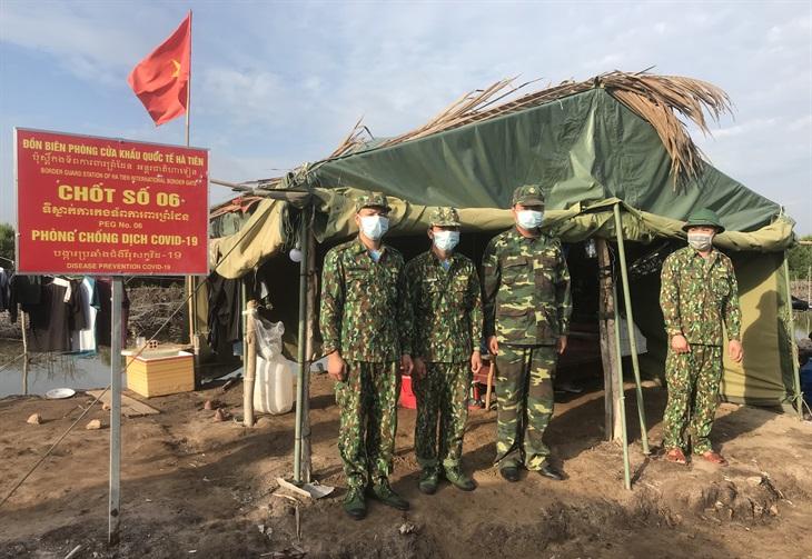 Kiên Giang: Siết chặt biên giới, nâng cao hiệu quả phòng, chống dịch Covid-19