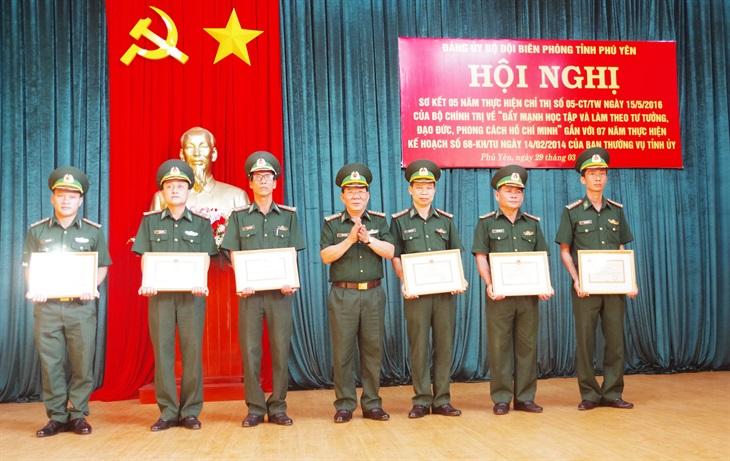 BĐBP Phú Yên đẩy mạnh học tập và làm theo tư tưởng, đạo đức, phong cách Hồ Chí Minh