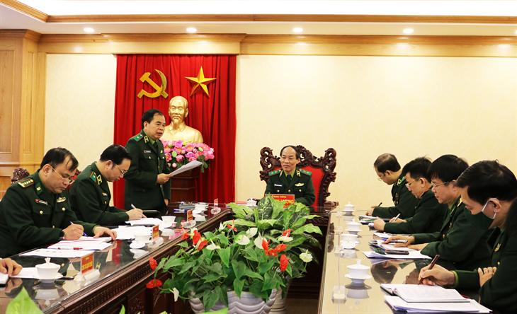 Bồi dưỡng kiến thức cho cán bộ Biên phòng tham gia cấp ủy cấp huyện