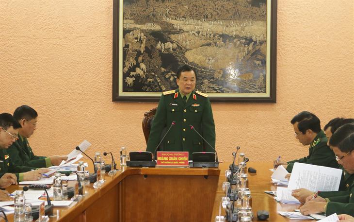 Tập trung hoàn thiện các Nghị định quy định chi tiết một số điều liên quan đến Luật Biên phòng Việt Nam