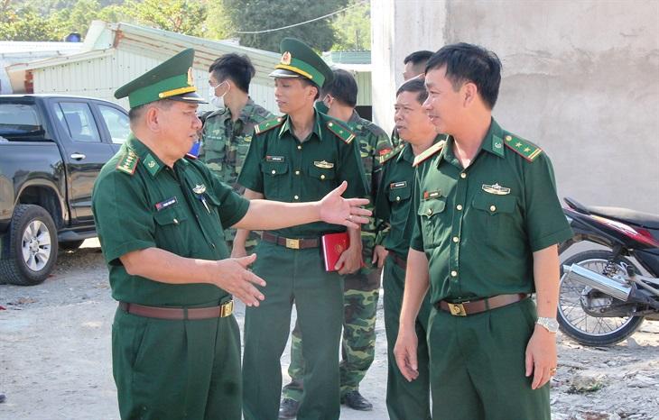 Kiểm tra công tác phòng, chống Covid-19 tuyến biên giới biển Phú Quốc