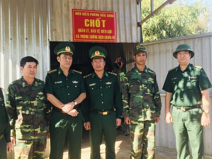 Kiểm tra công tác phòng, chống dịch bệnh Covid-19 trên tuyến biên giới Đắk Nông