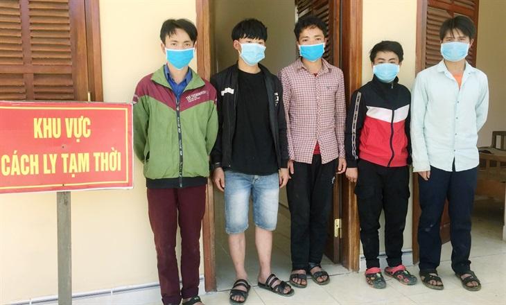 Phát hiện, bắt giữ 5 công dân nhập cảnh trái phép vào khu vực biên giới huyện Nam Giang