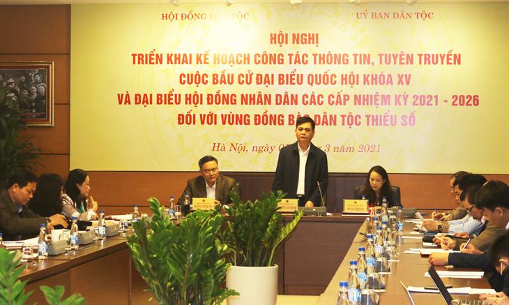 Tăng cường thông tin, tuyên truyền về công tác bầu cử tại vùng dân tộc thiểu số và miền núi