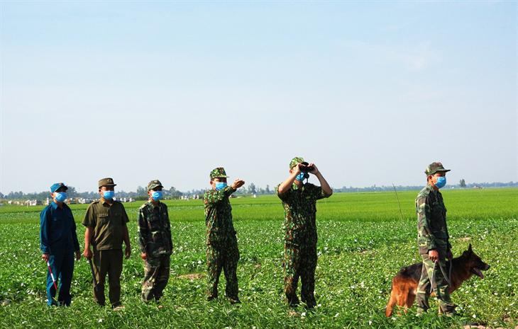 Tăng cường giữ vững trận địa phòng, chống dịch trên tuyến biên giới Tây Nam