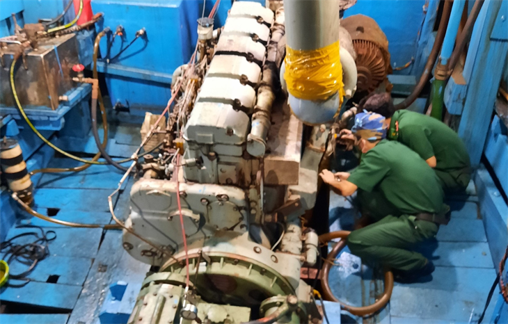 Quyết liệt ngăn chặn buôn lậu xăng dầu trên vùng biển Kiên Giang