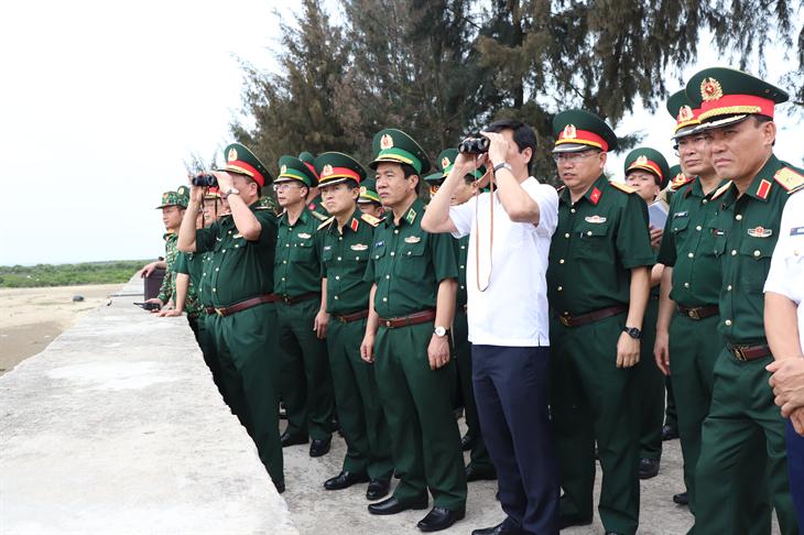 Kiểm tra công tác chuẩn bị Giao lưu hữu nghị Quốc phòng biên giới Việt Nam - Trung Quốc lần thứ 6