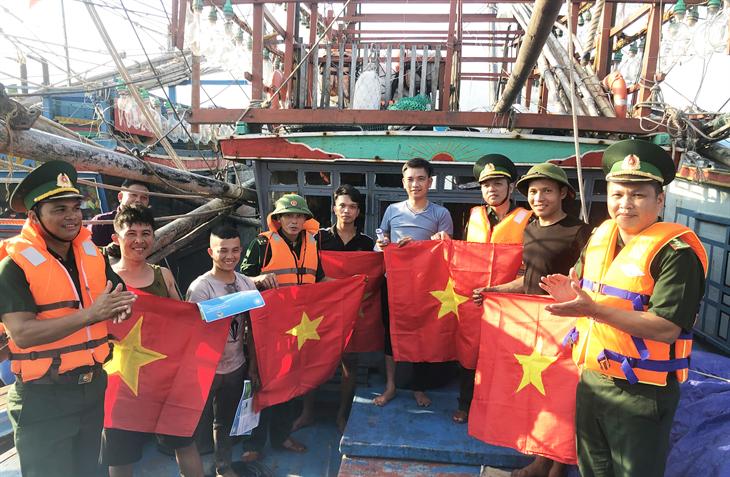 Ngư dân với lời thề bảo vệ chủ quyền biển, đảo