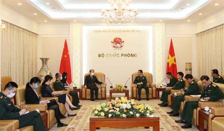 Thúc đẩy hợp tác quốc phòng Việt Nam - Trung Quốc