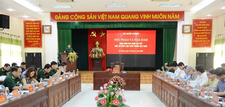 Hội thảo và tọa đàm Nghị định quy định chi tiết một số điều Luật Biên phòng Việt Nam