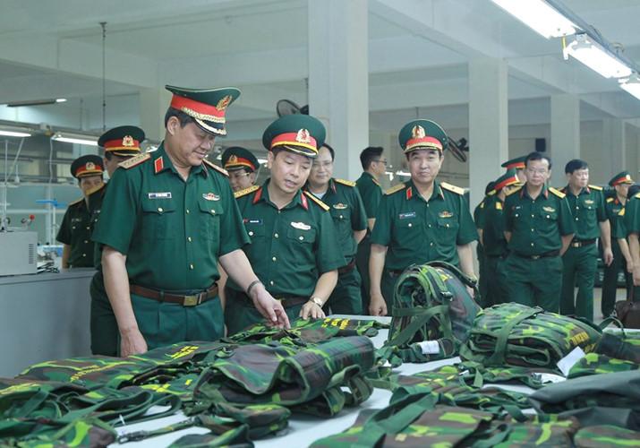 Tiêu chuẩn quân trang nghiệp vụtuần tra song phương dùng chung của BĐBP