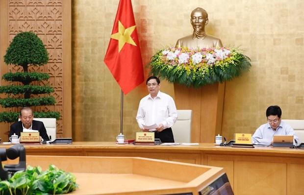 Thủ tướng Phạm Minh Chính chủ trì phiên họp Chính phủ đầu tiên sau nhậm chức