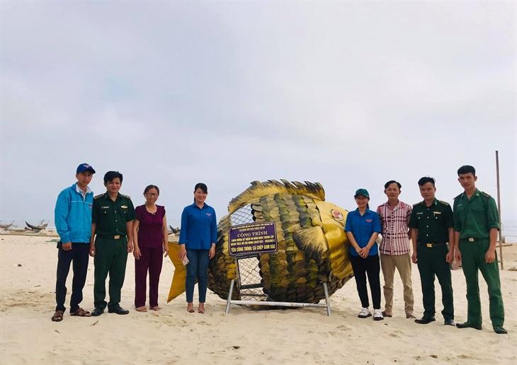 Bàn giao công trình Thanh niên chung tay bảo vệ môi trường biển