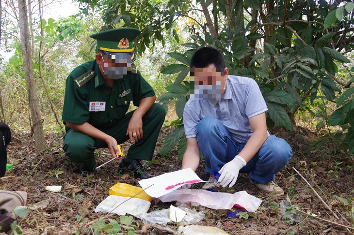 BĐBP Quảng Trị phát hiện, thu giữ 12.000 viên ma túy tổng hợp