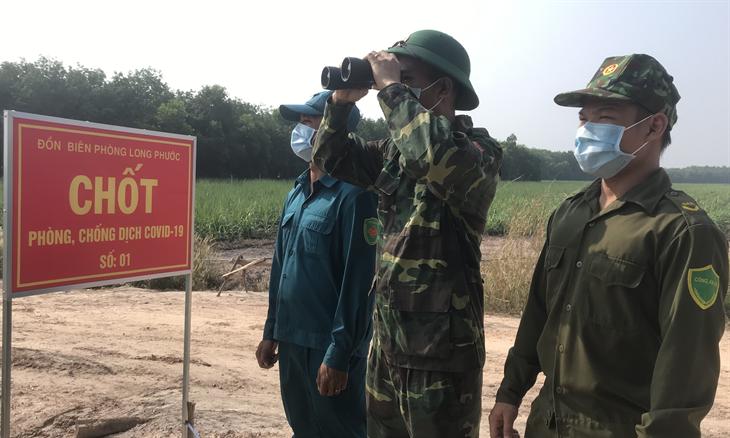 Phòng, chống dịch Covid-19 trên biên giới Tây Ninh