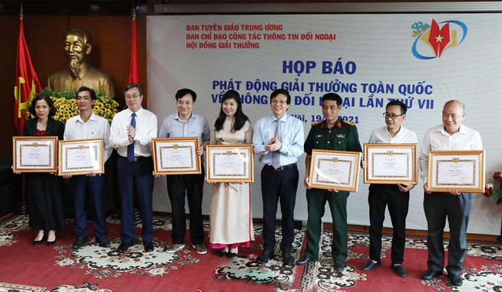 Phát động Giải thưởng toàn quốc về Thông tin đối ngoại lần thứ VII