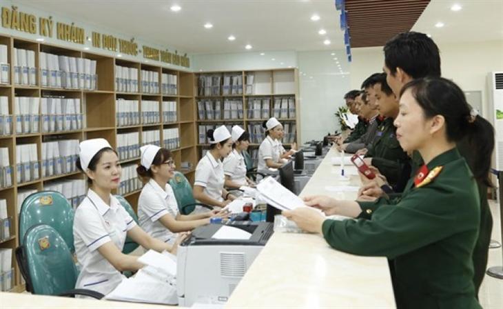 Trình tự, thủ tục cấp thẻ bảo hiểm y tế đối với quân nhân
