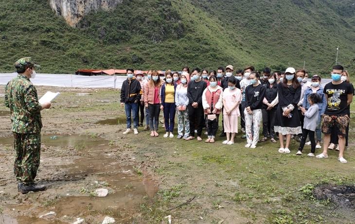 BĐBP Cao Bằng phát hiện, ngăn chặn nhiều công dân Trung Quốc nhập cảnh trái phép vào Việt Nam