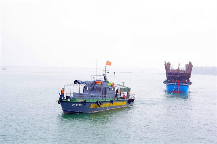 Tăng cường phối hợp tìm kiếm, cứu nạn trên biển