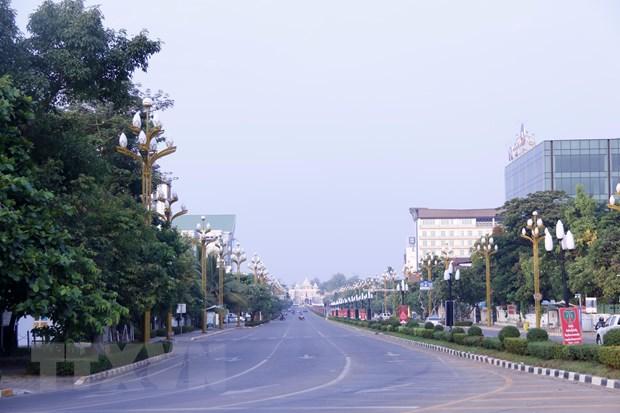 Thủ đô của Lào trong ngày đầu thực hiện lệnh phong tỏa dịch Covid-19