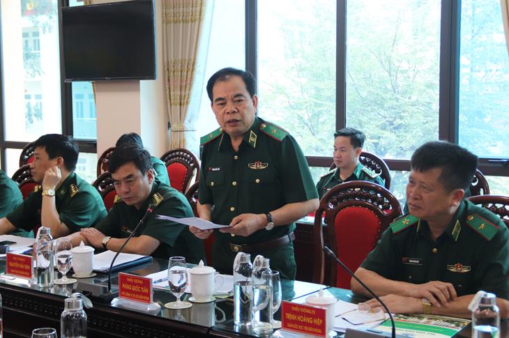 Hội thảo chương trình đào tạo Chỉ huy trưởng BĐBP cấp tỉnh