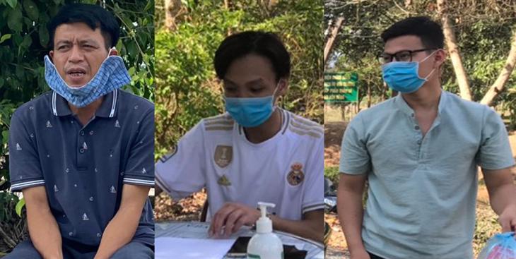 Các chốt phòng, chống dịch của BĐBP Tây Ninh bắt giữ 3 đối tượng nhập cảnh trái phép