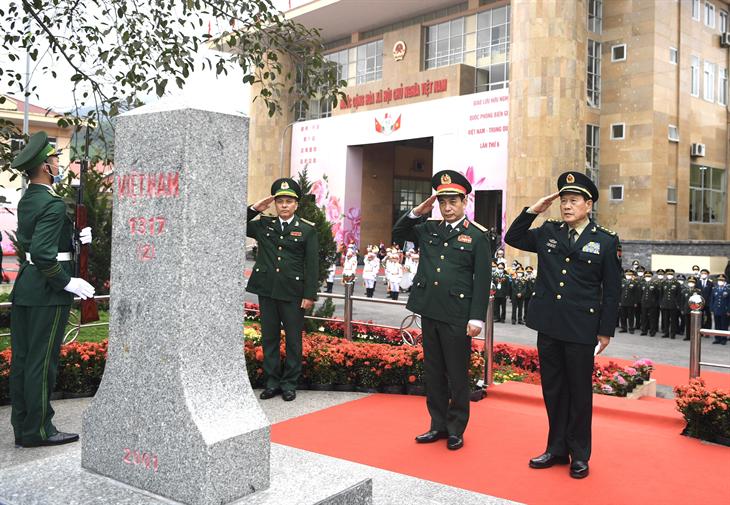 Thắm tình đoàn kết, hữu nghị giữa Quân đội và nhân dân hai bên biên giới Việt Nam - Trung Quốc