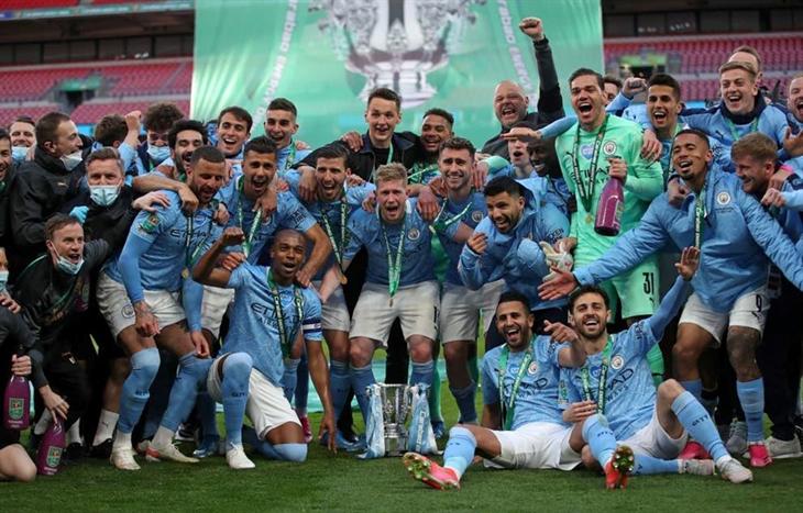 Hạ Tottenham, Man City lần thứ tư liên tiếp vô địch League Cup