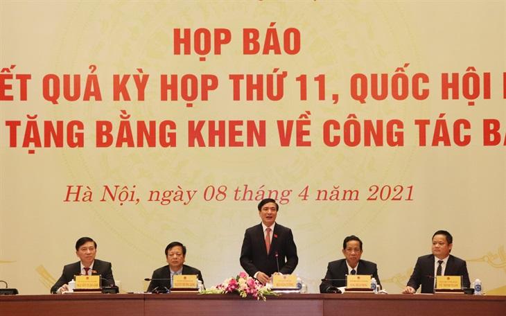 Kỳ họp thứ 11, Quốc hội khóa XIV đã hoàn thành chương trình nghị sự đề ra với nhiều nội dung quan trọng
