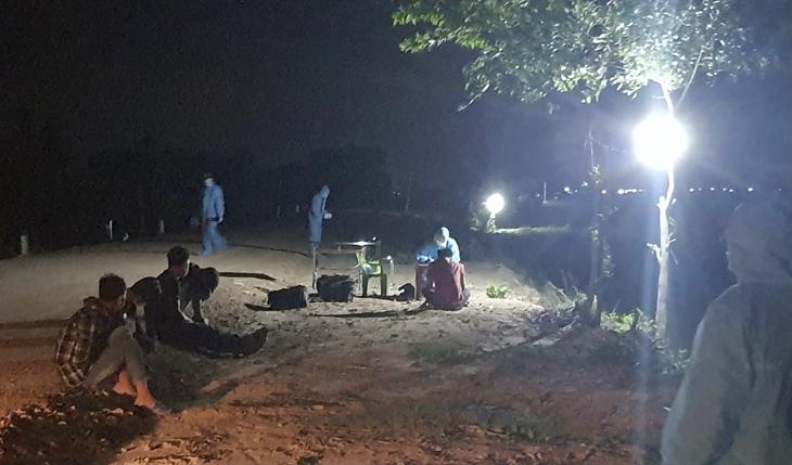 Bắt giữ 5 đối tượng nhập cảnh trái phép qua địa bàn biên giới tỉnh Tây Ninh