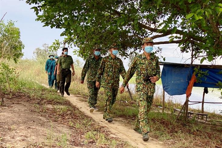 Thực hiện thắng lợi nhiệm vụ kép trên biên giới Tịnh Biên