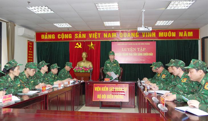 Ngành kiểm sát quân sự BĐBP phấn đấu hoàn thành tốt chức năng, nhiệm vụ trong tình hình mới