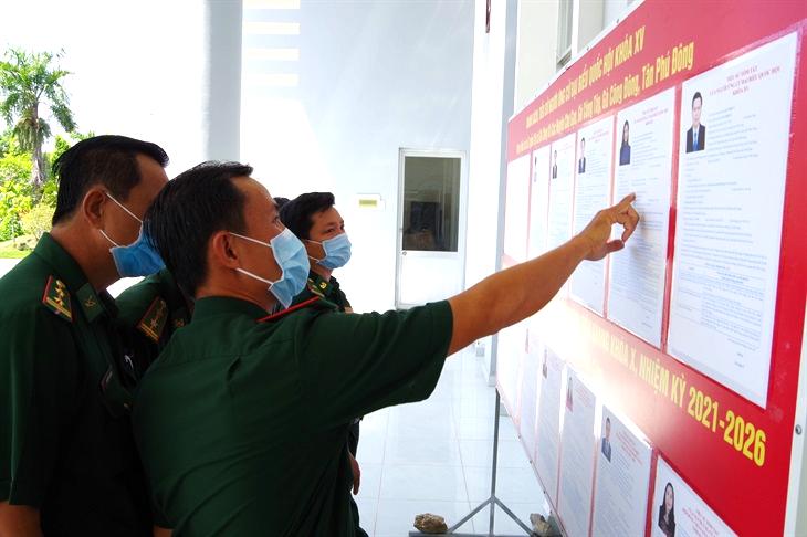 BĐBP Tiền Giang sẵn sàng chiến đấu, bảo đảm an toàn tuyệt đối cho ngày bầu cử