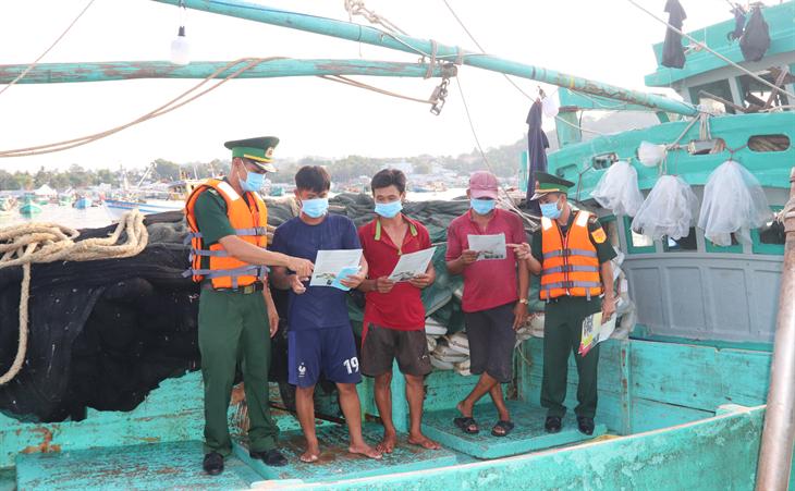 Chốt chặn vững vàng trên vùng biển Kiên Giang