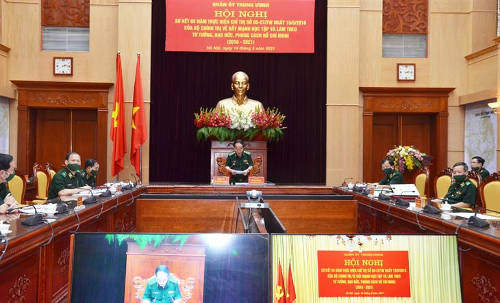 Toàn quân tiếp tục đẩy mạnh học tập và làm theo tư tưởng, đạo đức, phong cách Hồ Chí Minh