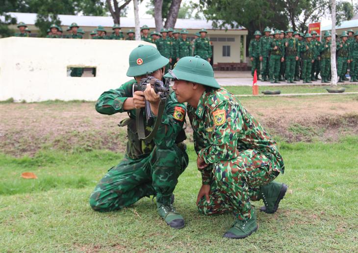 Quyết tâm của chiến sĩ mới trong mùa huấn luyện