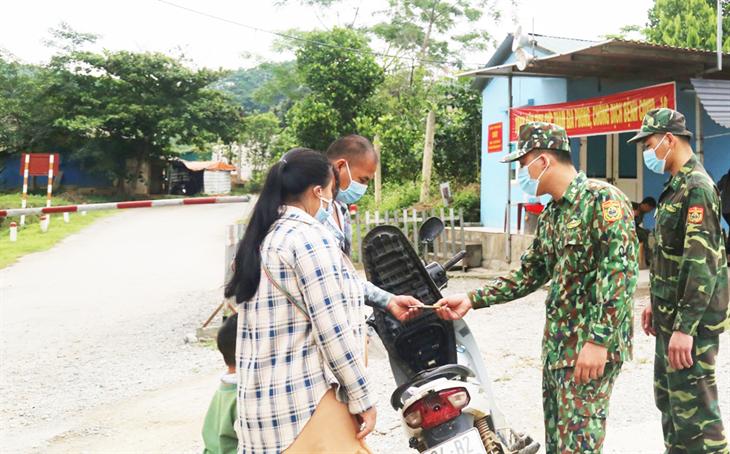 Lào Cai quyết tâm không để dịch lây lan vào địa bàn biên giới