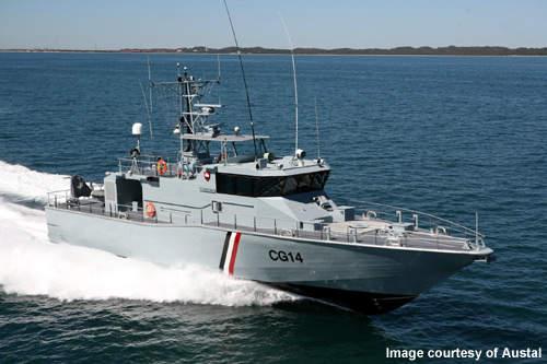 Thiết kế hiện đại của tàu tuần tra trên biển