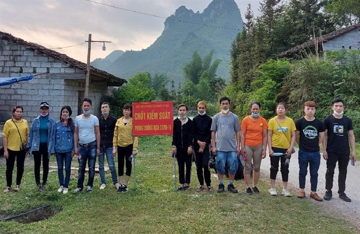 BĐBP Cao Bằng ngăn chặn 36 công dân nhập cảnh trái phép từ Trung Quốc vào Việt Nam
