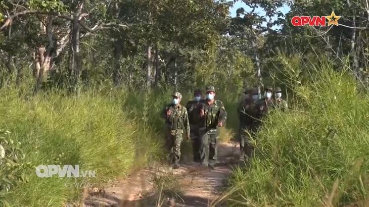 BĐBP tích cực phòng, chống dịch Covid-19 trên tuyến biên giới với Campuchia