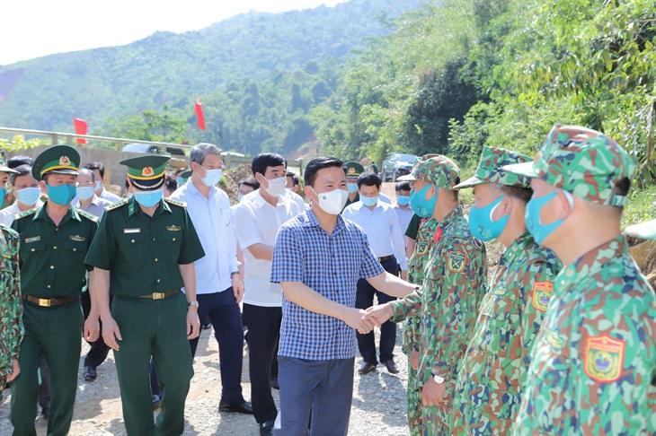 Sẵn sàng cho ngày hội bầu cử tại huyện vùng biên Mường Lát
