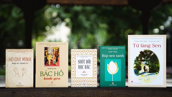 Sách về Bác Hồ ngày càng đa dạng, sâu sắc