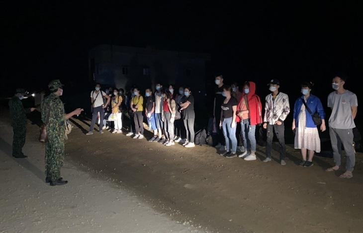 Phát hiện, ngăn chặn 38 công dân nhập cảnh trái phép từ Trung Quốc về Việt Nam